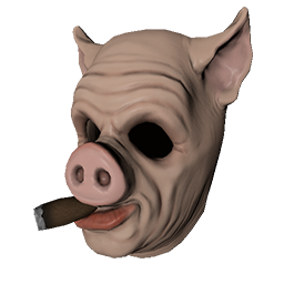 Cigar Hog Mask